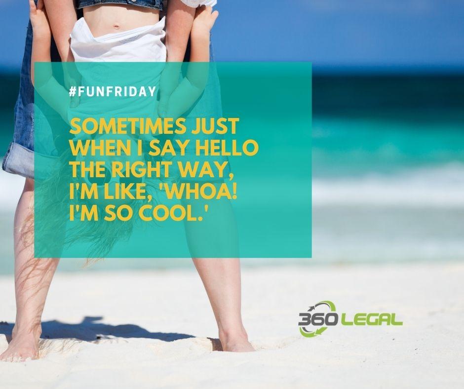 Fun Friday – Just Say Hello!