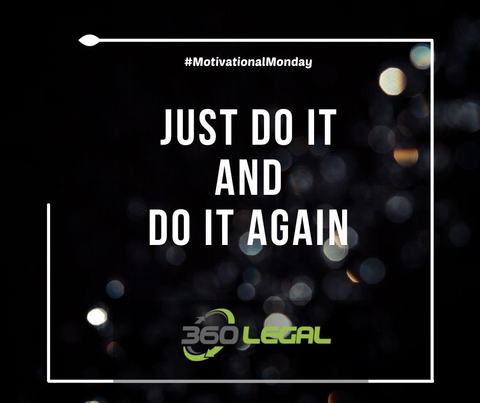 Motivational Monday – Just Do It