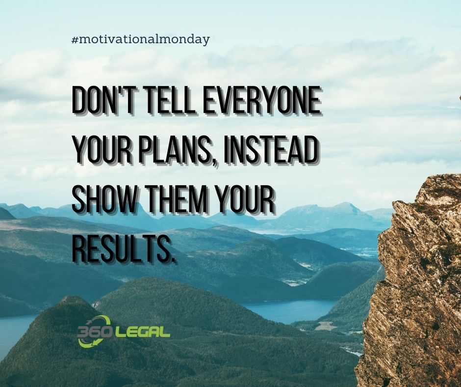 Motivational Monday – Show Them Results